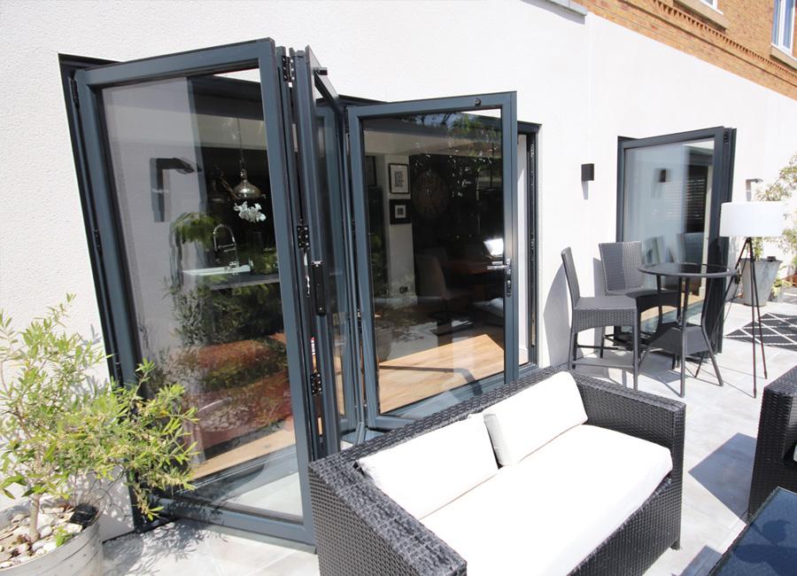 Aluminium Bi-Fold Doors Colchester